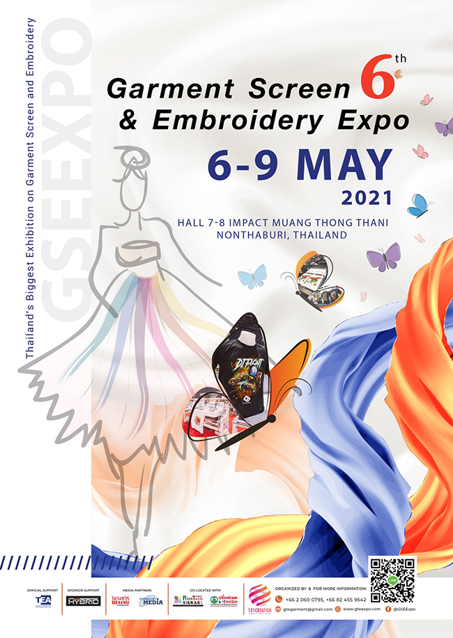 The 6th Garment Screen & Embroidery Expo 2021
